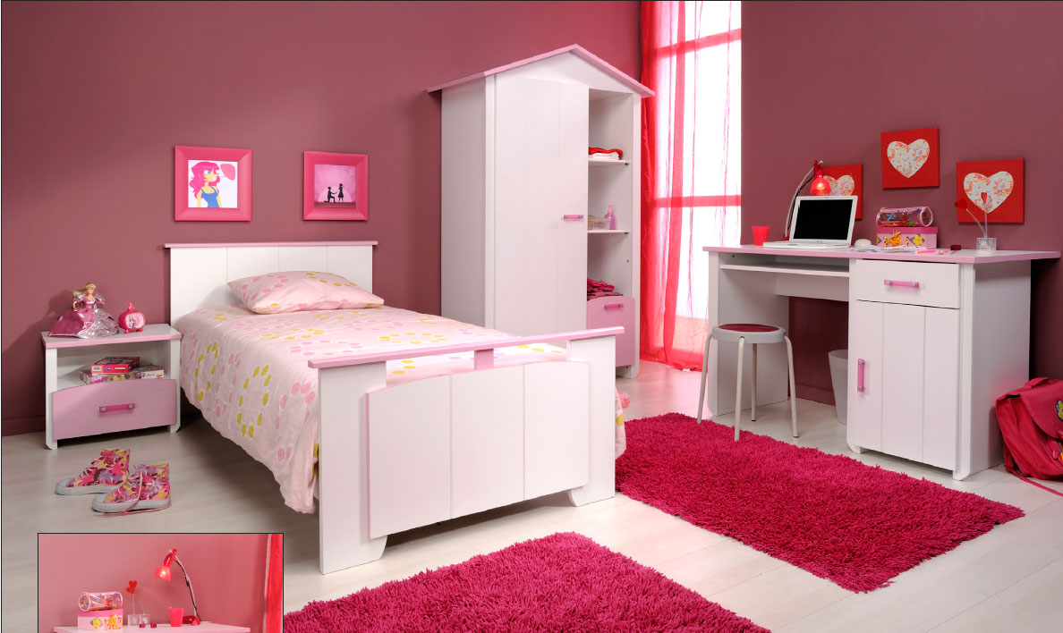 chambre pour enfants meubles chambre enfant bureau enfant design magnolia meuble little. Black Bedroom Furniture Sets. Home Design Ideas